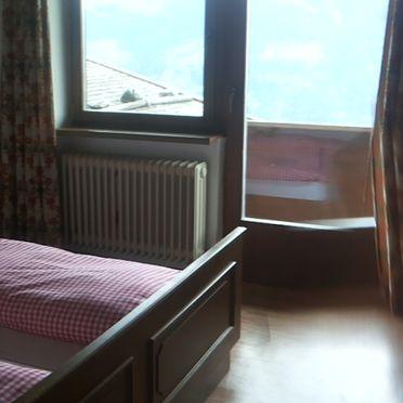 Schlafzimmer, Kohleralmhof, Fügen, Tirol, Tirol, Österreich