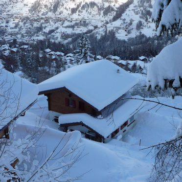 Winter, Chalet Amelie in La Tzoumaz, Wallis, Wallis, Switzerland