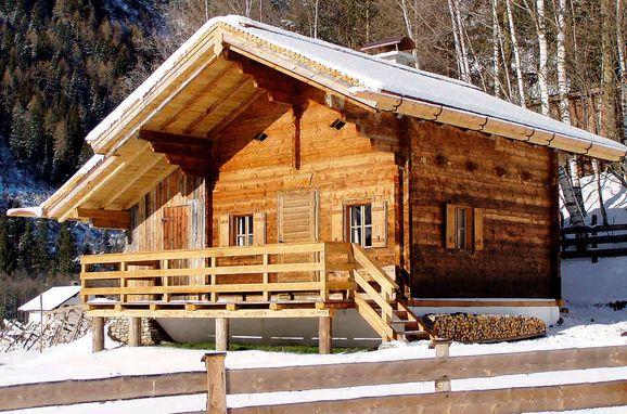 Winter, Lennkhütte in Rauris, Salzburg, Salzburg, Austria