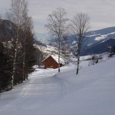 Ahornhütte, Winter