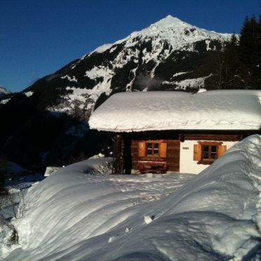 Winter, Hütta Monika in St. Gallenkirch, Vorarlberg, Vorarlberg, Austria