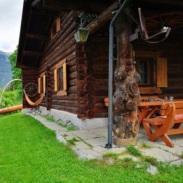 Terrasse, Hütta Monika, Sankt Gallenkirch, Vorarlberg, Vorarlberg, Österreich