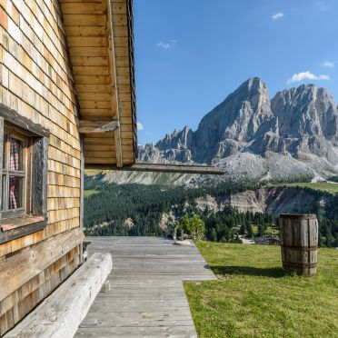 Summer, Costaces Hütte, Am Würzjoch, Südtirol, Alto Adige, Italy