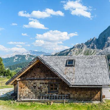 Sommer, Costaces Hütte in Am Würzjoch, Südtirol, Trentino-Südtirol, Italien