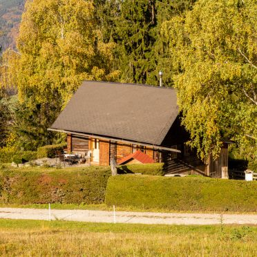 Autumn, Ferienhütte Windlegern, Neukirchen, Oberösterreich, Upper Austria, Austria