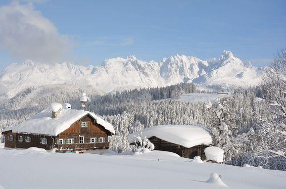Winter, Göglgut in St. Martin am Tennengebirge, Salzburg, Salzburg, Österreich