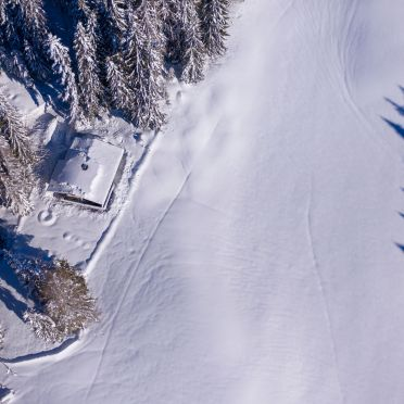 Winter, Steindl Häusl in Reith, Tirol, Tirol, Österreich