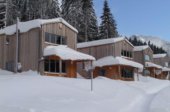 Frontansicht, Hüttendorf Präbichl in Vordernberg, Steiermark, Steiermark, Österreich