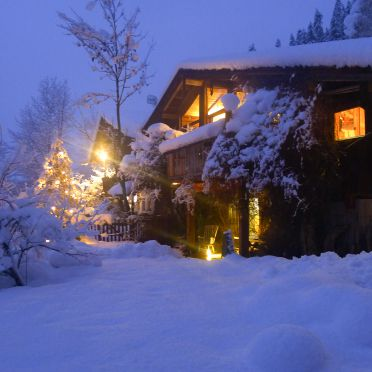 Luxus-Chalet Mühlermoos, Winter