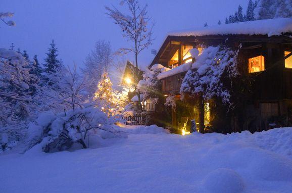 Winter, Luxus-Chalet Mühlermoos in Ramsau im Zillertal, Tirol, Tyrol, Austria