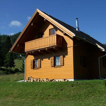 Frontansicht2, Hüttendorf Flattnitz - Typ B in Glödnitz, Kärnten, Kärnten, Österreich