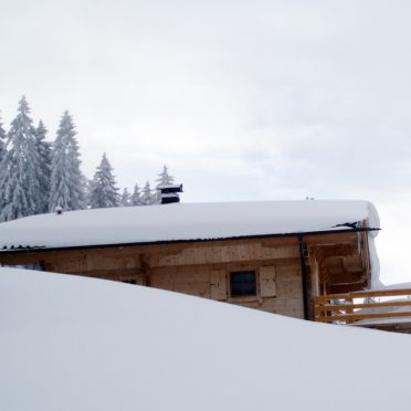Seitenansicht1, Kogelalm in Hainzenberg, Tirol, Tirol, Österreich