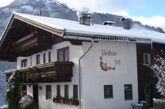 Frontansicht, Plenkenhof in Wald im Pinzgau, Salzburg, Salzburg, Österreich