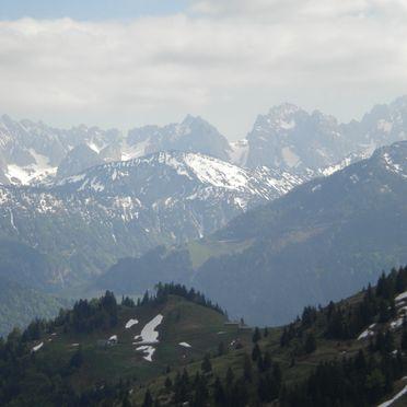 Aussicht Sommer, Lockner Hütte, Rettenschöß, Tirol, Tirol, Österreich