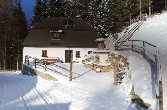 Winter, Staller Brendl in Obdach, Steiermark, Steiermark, Österreich