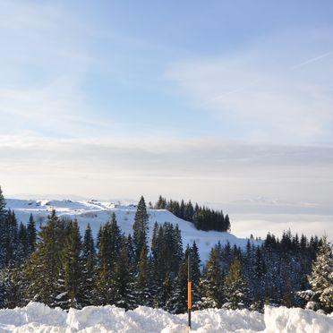 Aussicht, Almrausch-Feriendorf Koralpe in St. Stefan, Kärnten, Kärnten, Österreich