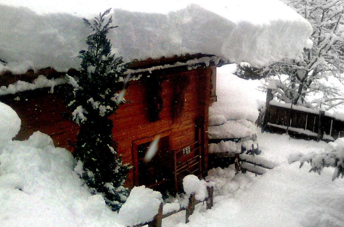 Hammer-Hütte, Winter