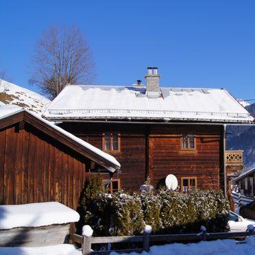 Aussenansicht Winter, Schmaranzhütte, Großarl, Salzburg, Salzburg, Österreich