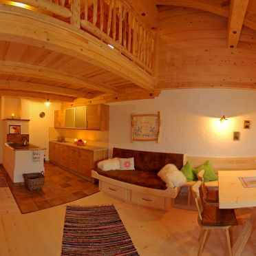 living-area with kitchen, Obere Regalm in Going, Tirol, Tyrol, Austria