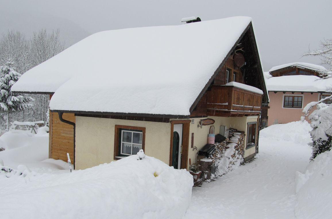 Ferienhaus Sonnalpe, Winter