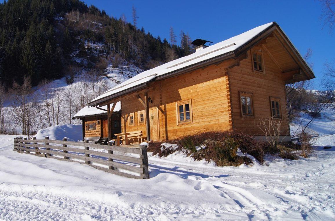 Gretchenruhe, Aussenansicht Winter