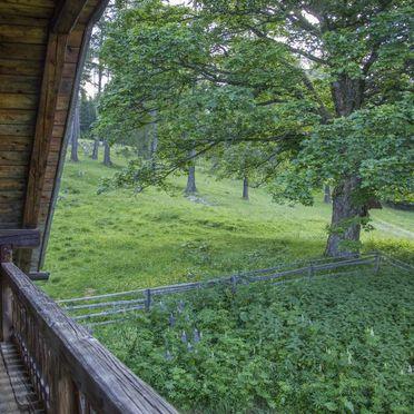 Reinhoferhütte, Aussicht vom Balkon