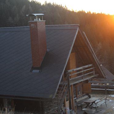 Sonnenuntergang, Jagerhütte, St. Gertraud, Kärnten, Kärnten, Österreich
