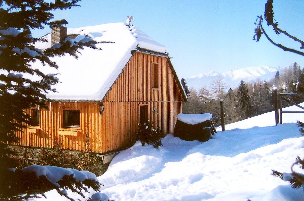 Pirschhütte, Frontansicht1
