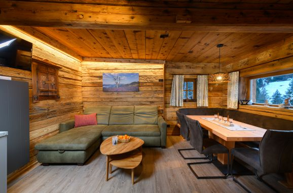 Livingroom, Hungarhub Hütte in Großarl, Salzburg, Salzburg, Austria