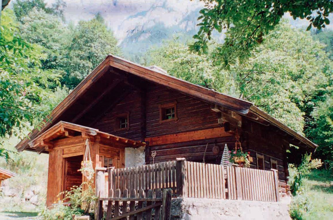 Zetzenberghütte, Frontansicht