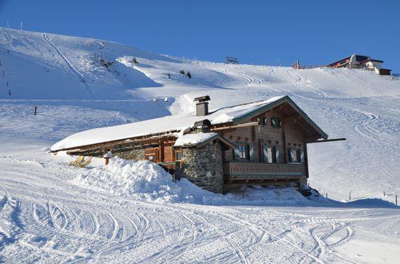 Winter, Jagdhütte Auhof, Jochberg, Tirol, Tirol, Österreich