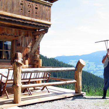 Terasse, Kohler Hütte, Fügen, Tirol, Tirol, Österreich