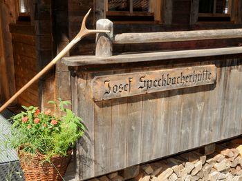 Josef-Speckbacher-Hütte - Tirol - Österreich