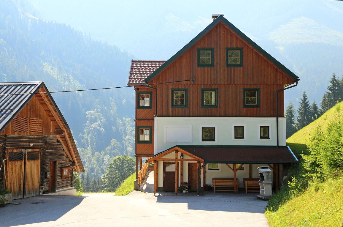 Druckfeichter Hütte, Sommer