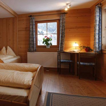 Schlafzimmer, Druckfeichter Hütte in Pruggern, Steiermark, Steiermark, Österreich