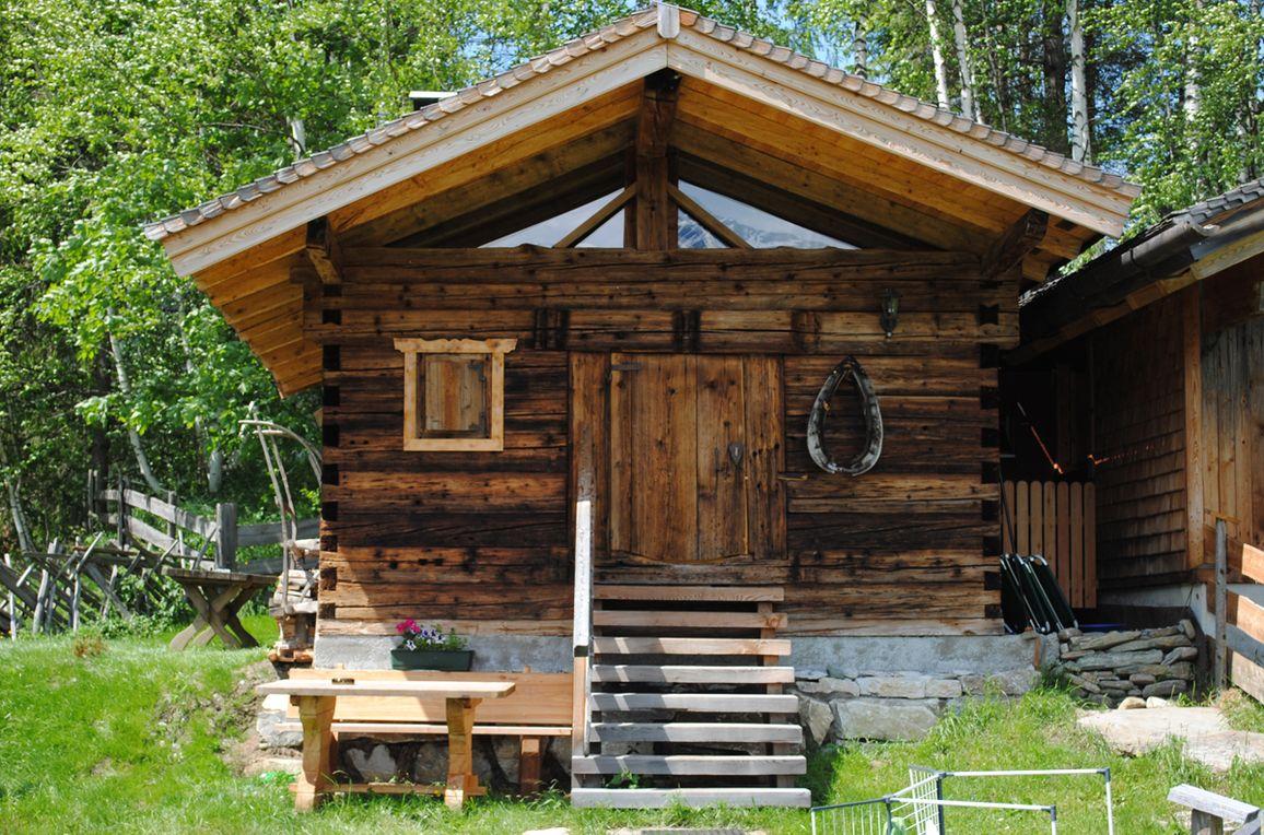 Goldwäscherhütte, Sommer