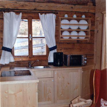 Goldwäscherhütte, Küchenzeile