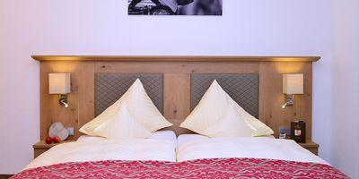 Doppelzimmer de Luxe 35 qm 1/2