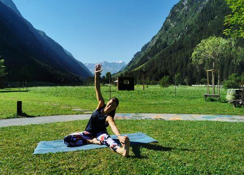Yoga - Biohotel Stillebach, St. Leonhard im Pitztal, Tirol, Österreich