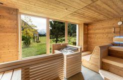 Biohotel Stillebach: Sauna - Biohotel Stillebach, St. Leonhard im Pitztal, Tirol, Österreich