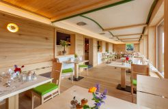Biohotel Mattlihüs: Neues Restaurant mit Weitblick - Biohotel Mattlihüs, Oberjoch, Allgäu, Bayern, Deutschland