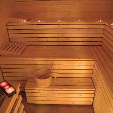 Alpine-Lodges Theresia, Sauna