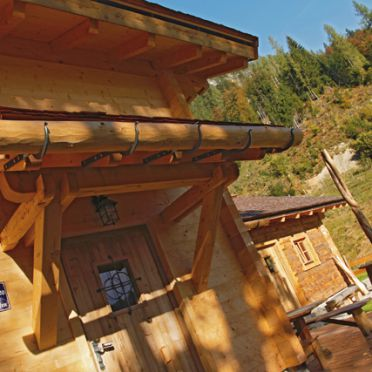 Loimoarhütte, Eingang
