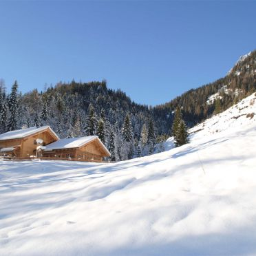 Loimoarhütte, Winter