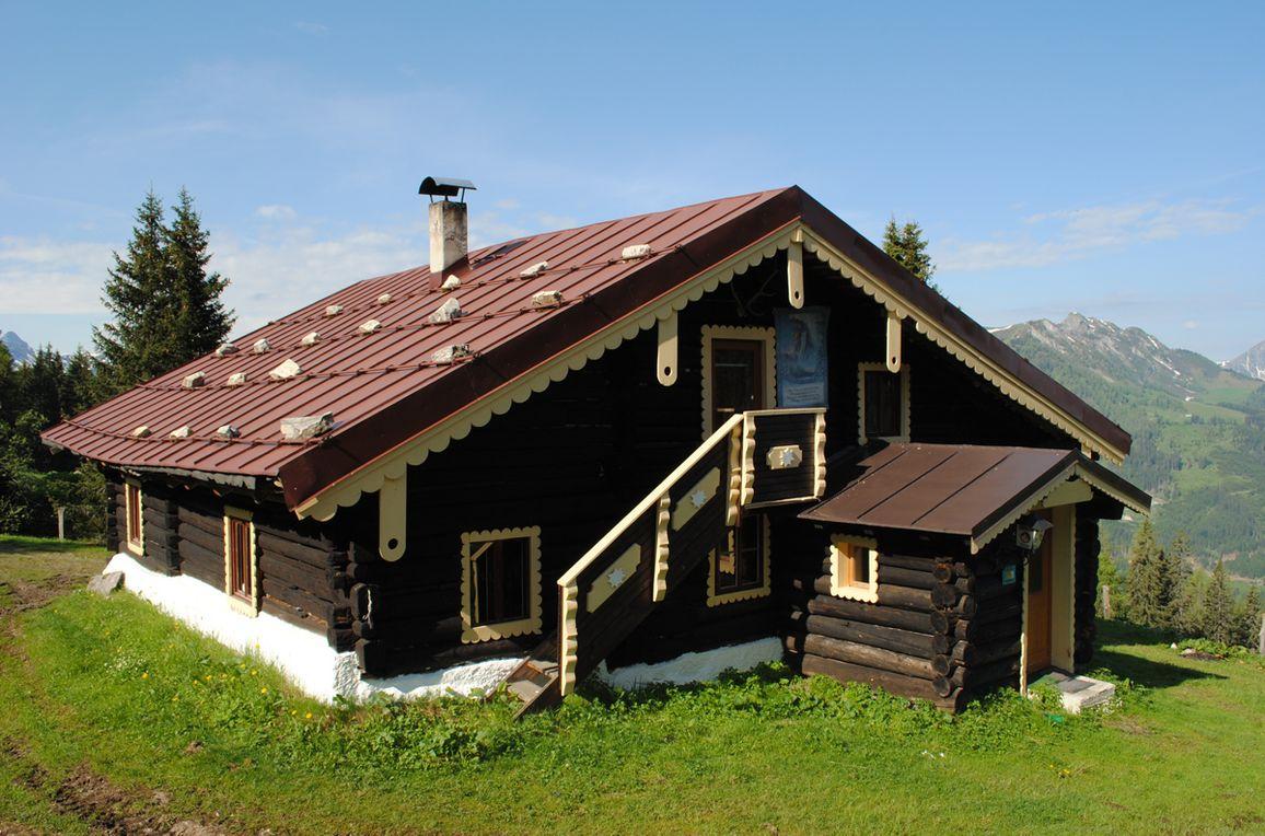 Firstwandhütte II, Frontansicht
