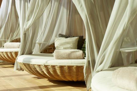 Short pampering break.