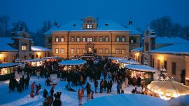 Salzburger Christkindlmarkt - Genussdorf Gmachl