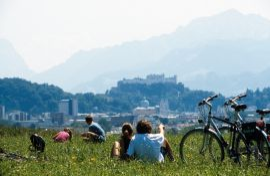 Fahrrad & E-Bike Verleih im Genussdorf Gmachl