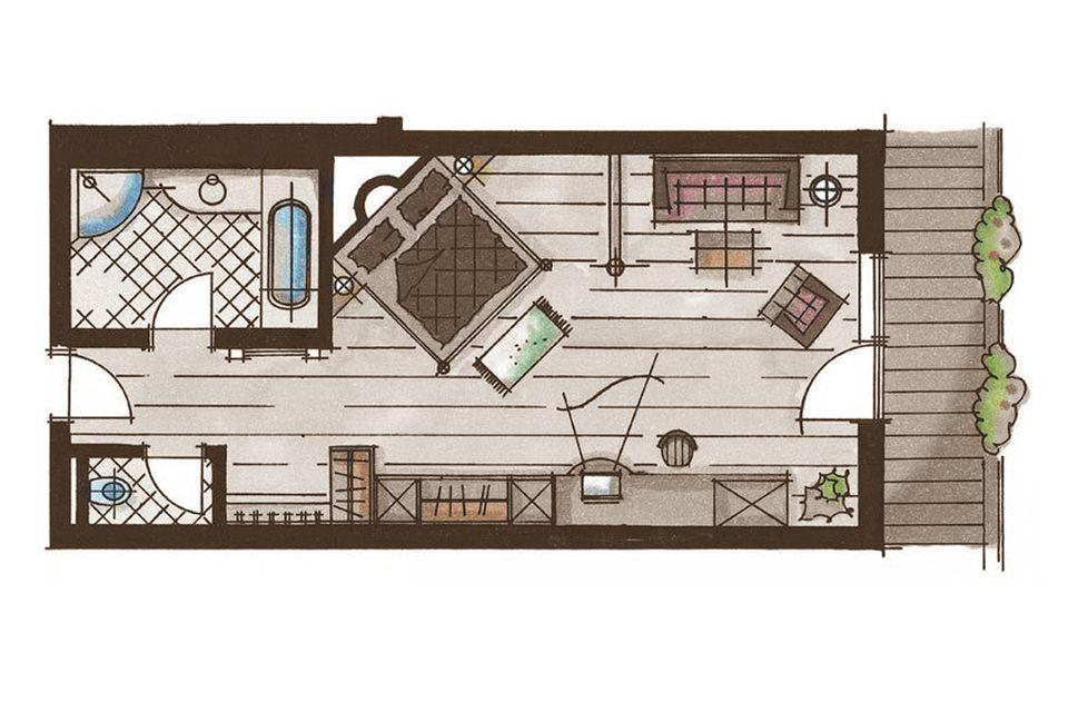 Enzian Suite 2/3