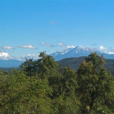 """Aussicht, Gut Ottmanach """"Schlosshof"""", Pischeldorf, Kärnten, Kärnten, Österreich"""